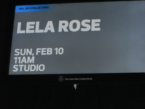 CDL Exclusive: LELA ROSE Fall 2013 Show (Photos)