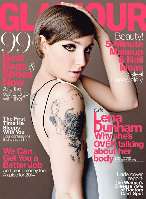 Lena Dunham Thinking About Quitting Acting, But Is She Really? (PHOTO)