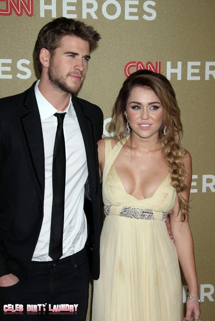 Miley Cyrus To Ring In The New Year With Liam Hemsworth