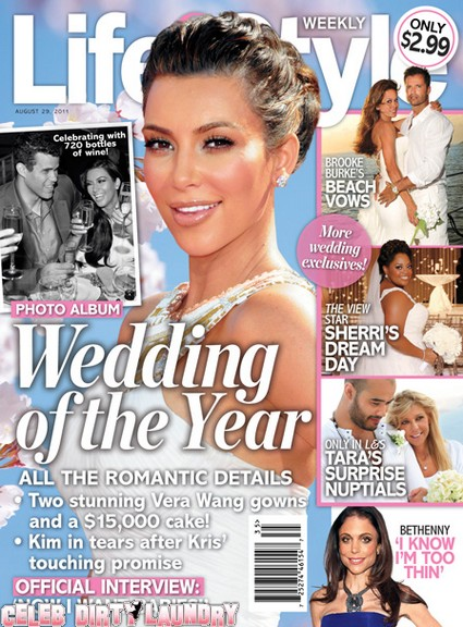 Life & Style Magazine:  Why Kim Kardashian's Wedding Guest List Was Cut Short