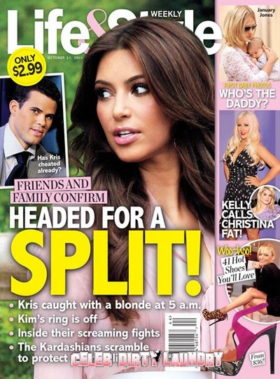 Confirmed: Kim Kardashian & Kris Humphries Headed For A Split!