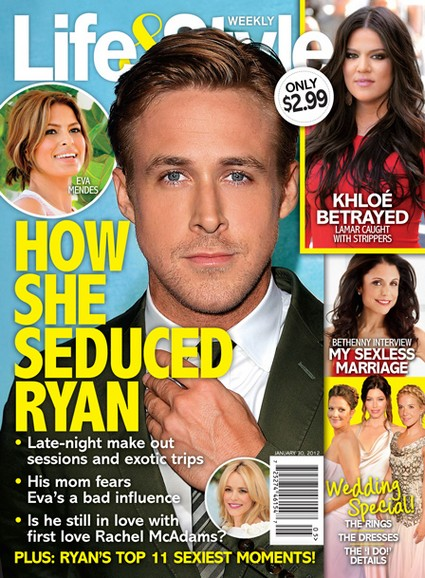How Eva Mendes Seduced Ryan Gosling (Photo)