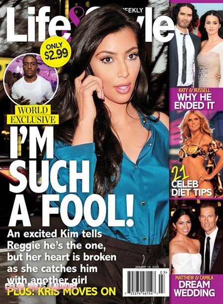 Kim Kardashian Heartbroken Over Reggie Bush's Infidelity (Photo)