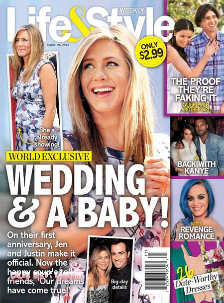 A Wedding and A Baby For Jennifer Aniston (Photo)