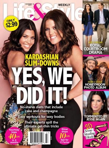 Khloe Kardashian & Kourtney Kardashian Reveal Their Diet Secrets