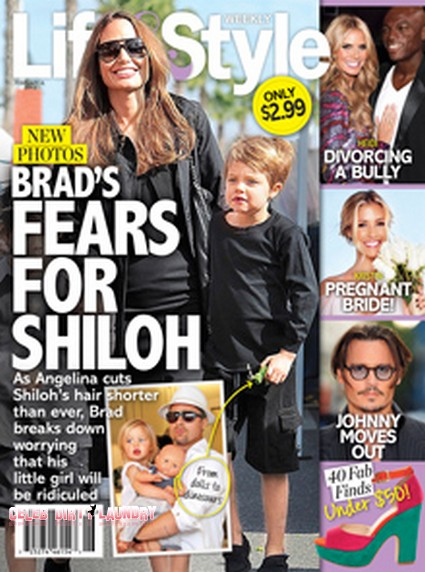 Brad Pitt Fear For His Daughter Shiloh (Photo)