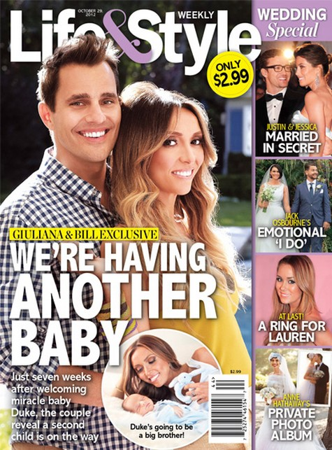 Bill and Giuliana Rancic Are Having Another Baby!