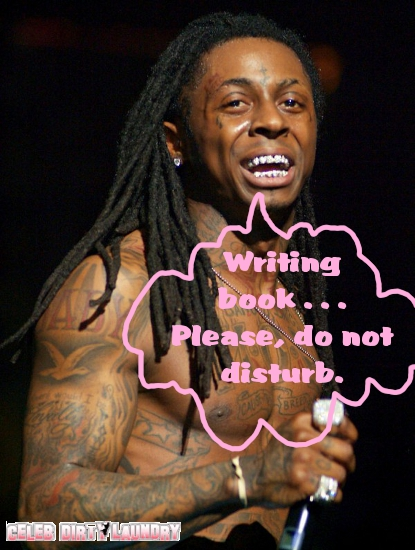 Lil' Wayne To Write A Book Detailing His Stint In Prison