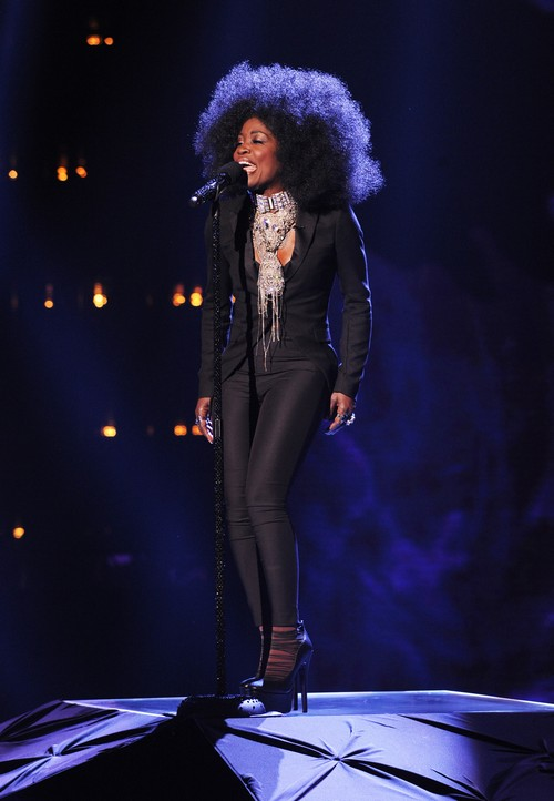 "Lillie McCloud The X Factor ""All In Love Is Fair"" Video 11/6/13 #TheXFactorUSA"
