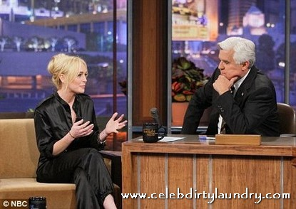 What Was the Audience Smoking?  Lindsay Lohan Gets Standing Ovation on Leno!