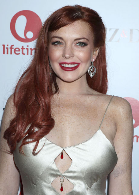 Lindsay Lohan Liz and Dick Premiere