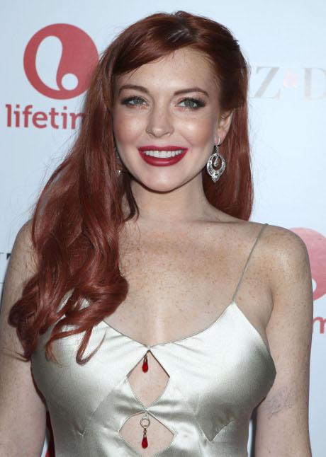 Lindsay Lohan Liz and Dick Premiere