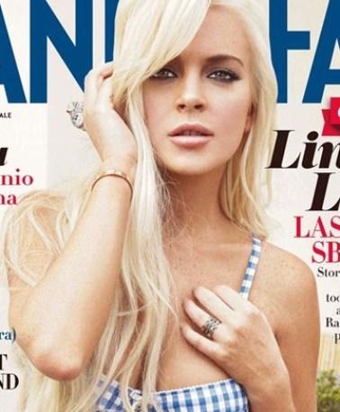 Lindsay Lohan Tells Vogue Italia Sending Her To Jail Was Wrong!