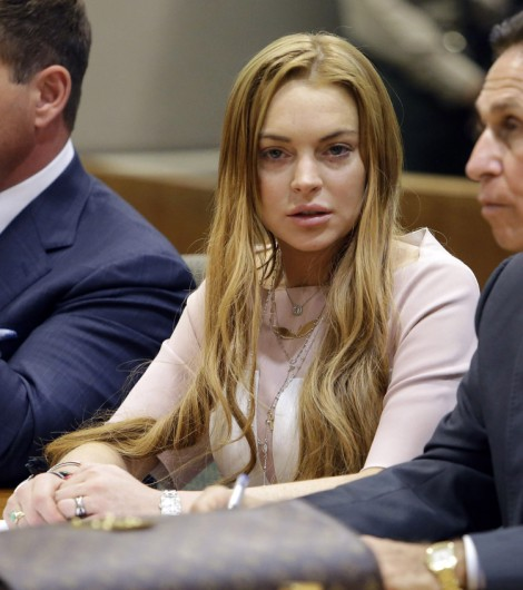 Lindsay Lohan Passes Out Drunk On Floor Of Brazilian Nightclub (Photo) 0329