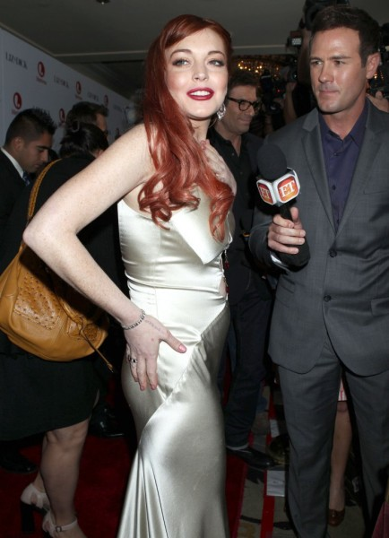 Lindsay Lohan Arrested For Punching A Woman In A Nightclub 1129