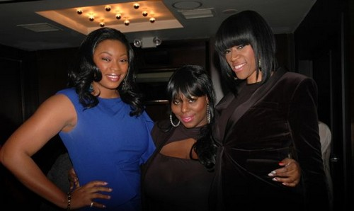 Liris Cross, Tionna Smalls, Tashera Simmons