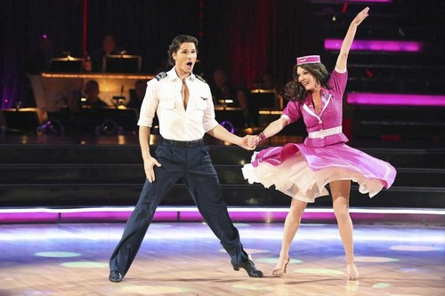 Lisa Vanderpump Dancing With the Stars Viennese Waltz Video 4/1/13