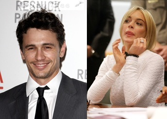 Lindsay Lohan Comeback:  A Sex Book With James Franco