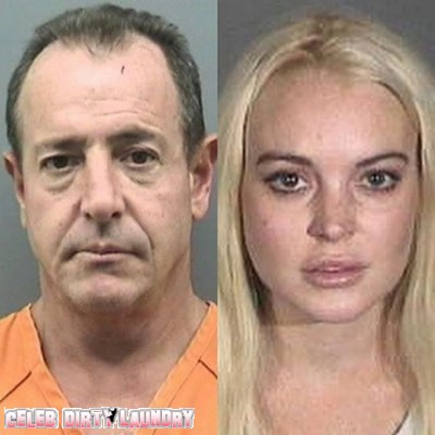 Lindsay Lohan & Michael Lohan: The Family That Mugshots Together, Stays Together