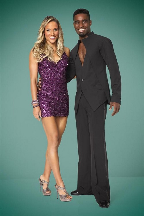 Lolo Jones, Keo Motsepe Dancing With the Stars Cha Cha Cha Video Season 19 Premiere 9/15/14 #DWTS
