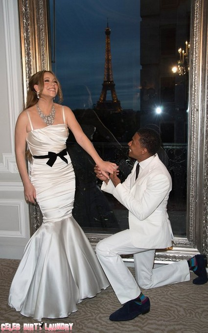 First Look : Mariah Carey And Nick Cannon Renew Their Vows AGAIN (Photos)