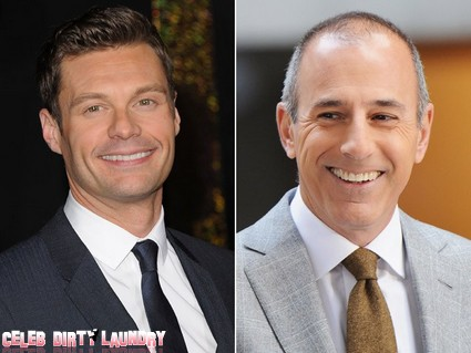 Matt Lauer Jealous Of Possible Replacement Ryan Seacrest