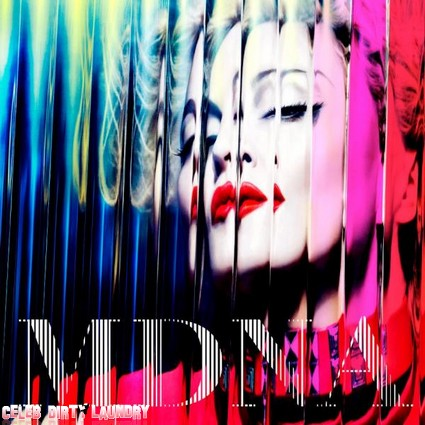 First Look At Madonna's New MDNA Album Cover (Photo)