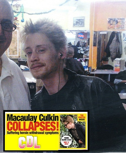 Report: Macaulay Culkin Collapses – Suffering From Heroin Withdrawal