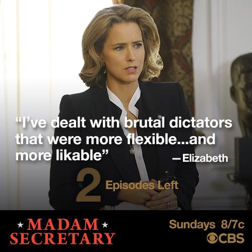 "Madam Secretary Recap 5/1/16: Season 2 Episode 22 ""Render Safe"""