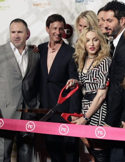 Madonna Opens Her First Hard Candy Fitness Gym In Mexico