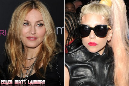 Madonna Implies Lady Gaga Ripped Her Off