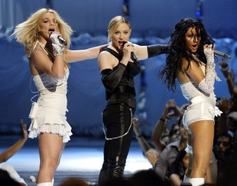 Madonna, Britney Spears, Christina Aguilera Reuniting, Whose Career Needs It Most? 0827