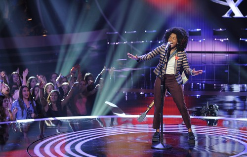"Majesty Rose American Idol ""Tightrope"" Video 2/26/14 #IdolTop13"
