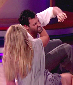 Kirstie Alley's Dance Partner Goes Down Hard - Bounces Back On DWTS