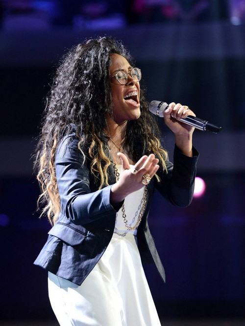 "Malaya Watson American Idol ""Ain't No Way"" Video 4/2/14 #IdolTop8"
