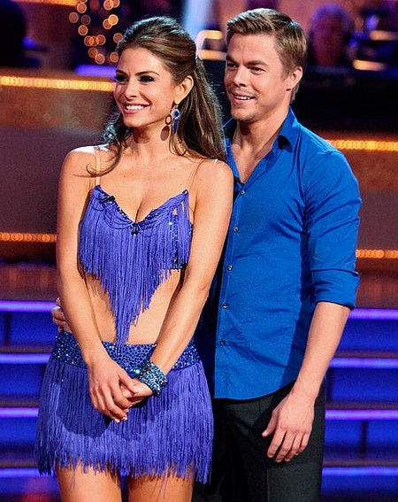 Maria Menounos Dancing With The Stars Waltz Performance Video 5/7/12