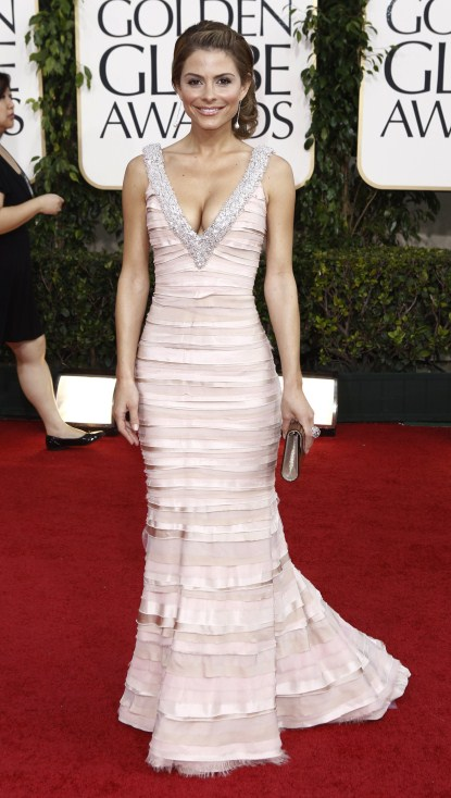 Maria Menounos At The 68th Annual Golden Globe Awards