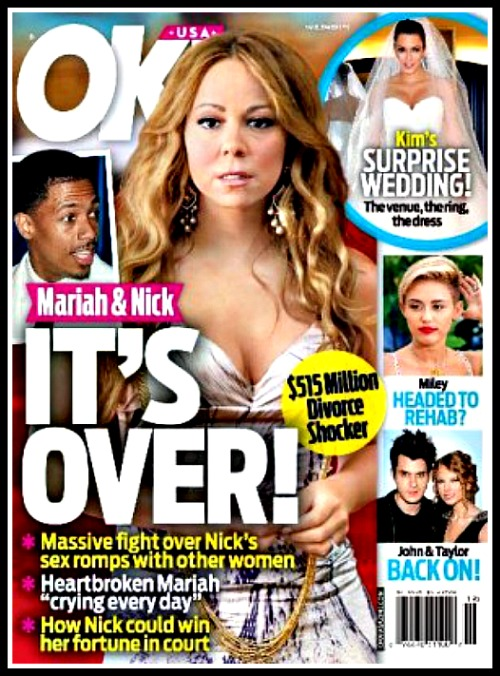 Mariah Carey and Nick Cannon Divorce: Marriage Ends Over Cheating - $515 Million Battle!
