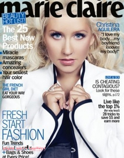 Christina Aguilera Uses Her 'Voice' And Talks To Marie Claire About Her Past Year Of Struggles