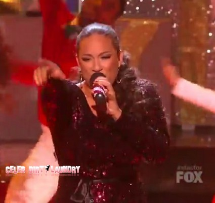 Melanie Amaro 'All I Want For Christmas' The X Factor USA Final Performance Video 12/22/11
