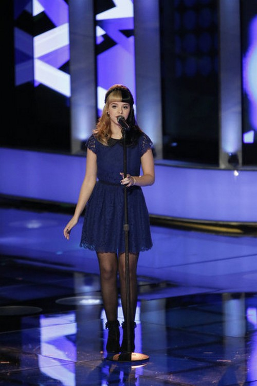 Melanie Martinez The Voice Top 8 Video 11/26/12