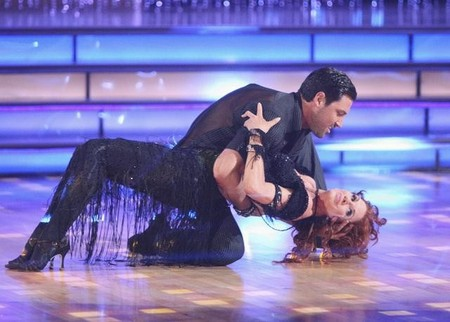 Melissa Gilbert Dancing With The Stars Paso Doble Performance Video 4/9/12
