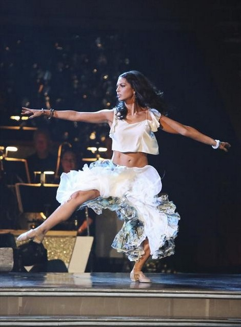 Melissa Rycroft Dancing With the Stars All-Stars Tango/Cha-Cha  Fusion Performance Video 11/5/12