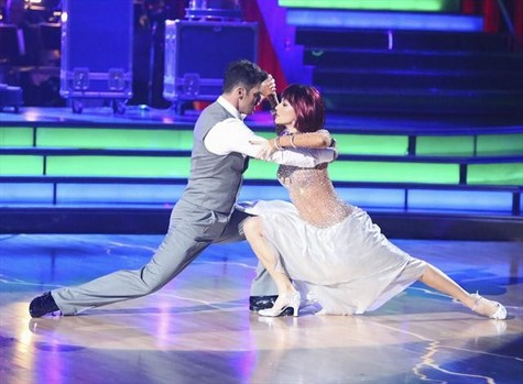 Melissa Rycroft Dancing With the Stars All-Stars Viennese Waltz Performance Video 10/29/12