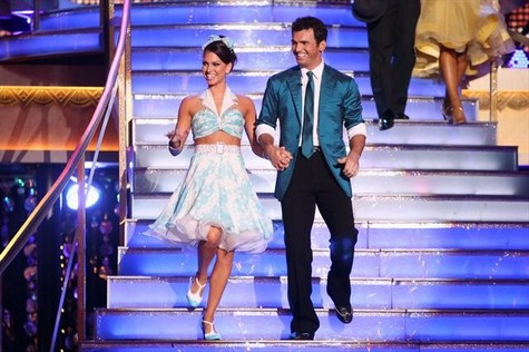 Melissa Rycroft Dancing With the Stars All-Stars Samba Performance Video 10/8/12