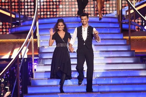 Melissa Rycroft Dancing With the Stars All-Stars Quickstep Performance Video 11/12/12