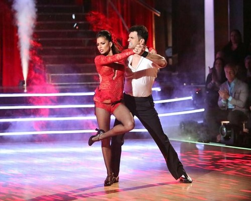 Melissa Rycroft Dancing With the Stars All-Stars Samba Performance Video 11/26/12