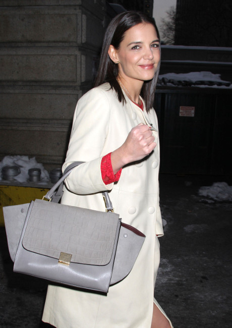 Mercedes-Benz Fashion Week 2014: Katie Holmes Stuns at DKNY Show - Plus More Highlights, Fashion Tragedies, and Gossip HERE! (PHOTOS)
