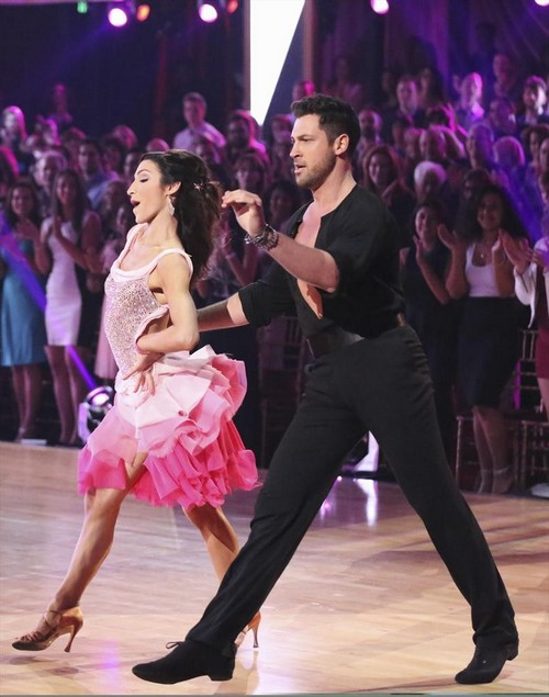 Meryl Davis Dancing With the Stars Swing Video 3/24/14 #DWTS