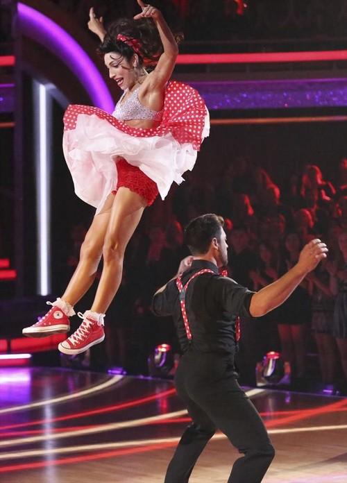 Meryl Davis Dancing With the Stars Foxtrot Video 3/31/14 #DWTS